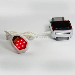 China smart laser treatment wrist watch for hypertension and diabetic