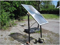large solar fresnel lens for solar furnace