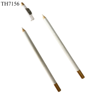 Microbalding Beauty Cosmetic Wholesale White Color Cosmetic Art Eyebrow Pencil Permanent Waterproof Eyebrow Pencil