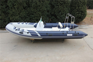 China manufacturer made fishing boat, new 520 RIB rigid hypalon inflatable sport fishing boats for sale with motor