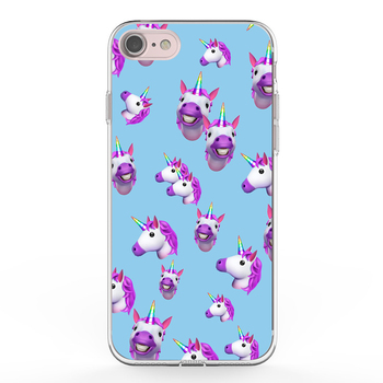 super popular bba8b 20bf7 Ikfcase Wholesale New Customized Slim Tpu Unicorn Printed Phone Case  Transparent Cute Unicorn Printing Design Cases For Iphone 7 - Buy Oem  Unicorn ...