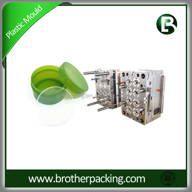 Plastic Injection Mold Shanghai Manufacturer Stainless Steel Cap Mould