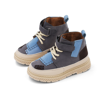 Autumn and winter new child martin boots boys hiking boots