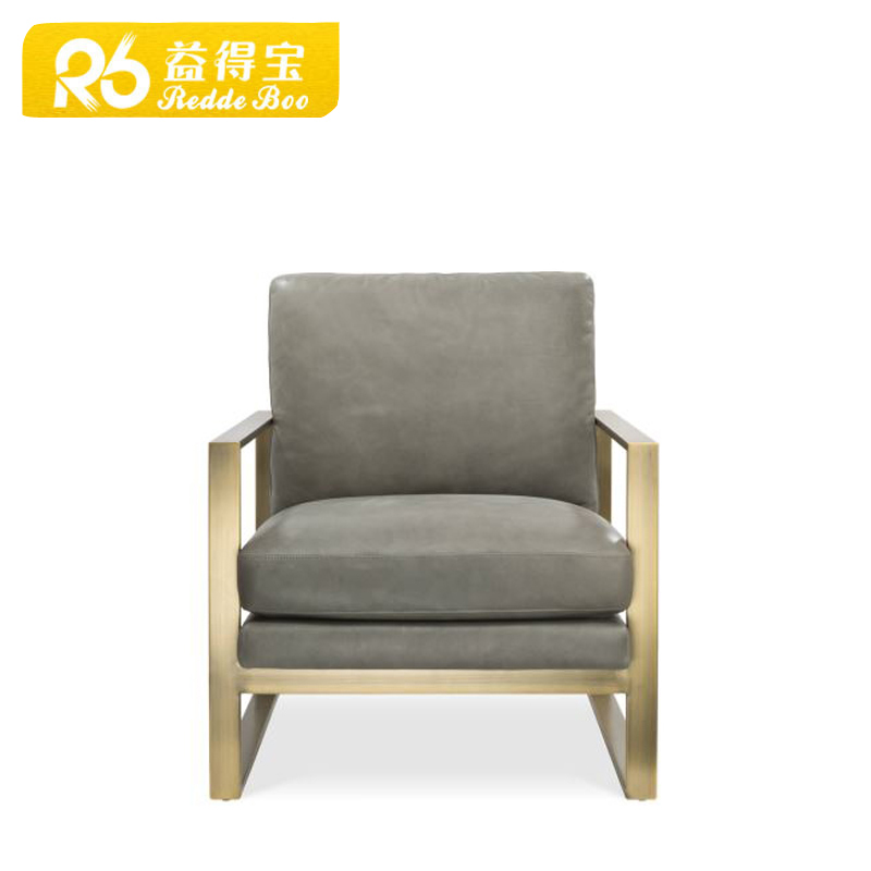 Shenzhen hot selling office furniture stainless steel frame leather chair