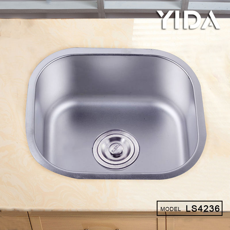 Small Size Sri Lanka Double Bowl Stainless Steel Kitchen Sink Without Faucet Hole 201 Sinks Price
