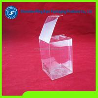 Plastic clear foldable box soft plastic box
