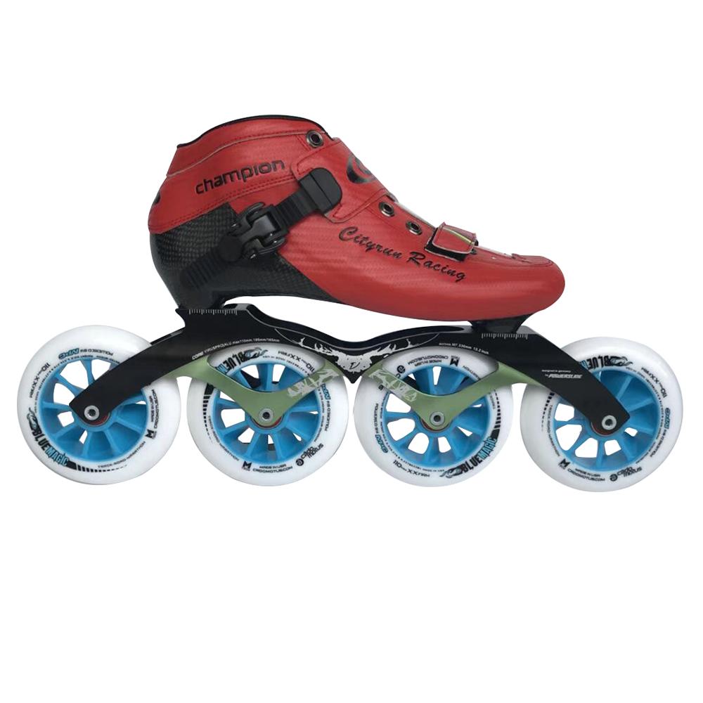 High quality Cityrun inline speed skate sports racing speed skates professional roller inline speed skates wholesale фото