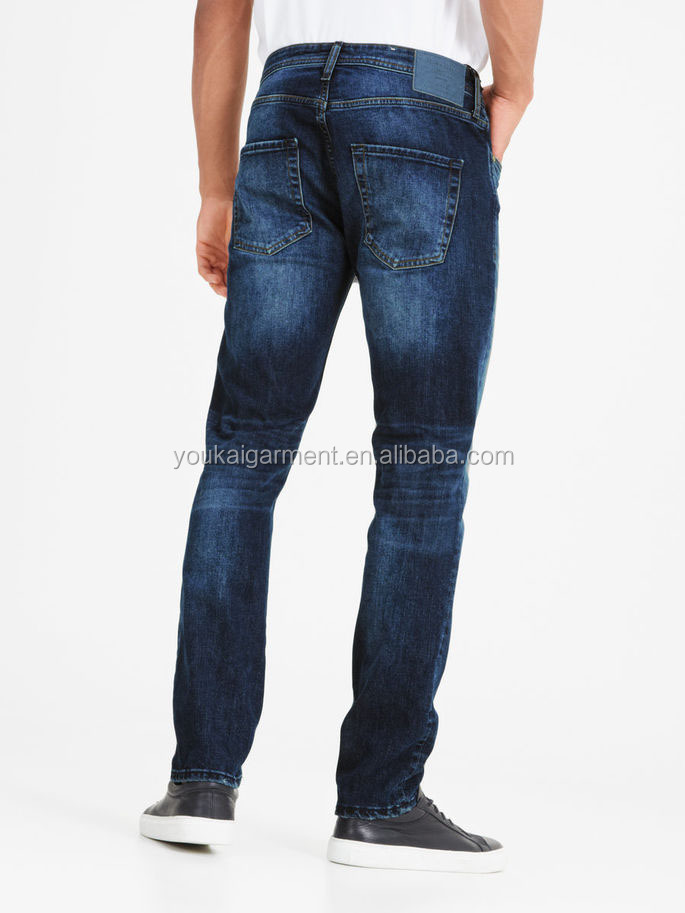 the latest fashions trend men's jeans top 10 jeans brands men classic straight casual slim fit man trousers