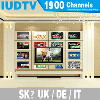 IUDTV Accounr Test Code With Large Number of Full Europe Channels UK Arabic Free Shopping Online for Mag 250 TV Box
