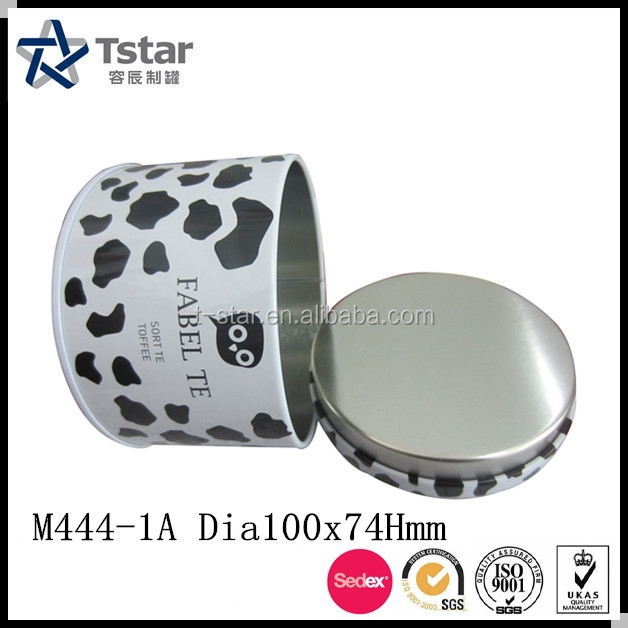 Food Grade customize metal tin box for candy/cookie/chocolate/tea packaging