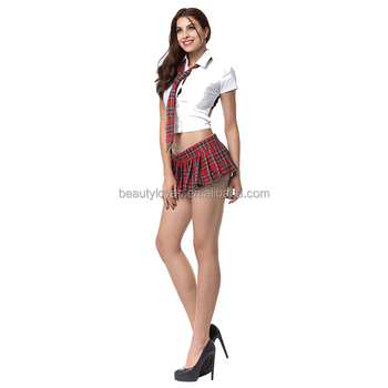 Sexy School Student Uniform Sexy Cosplay Party Costume Japanese Girl High School