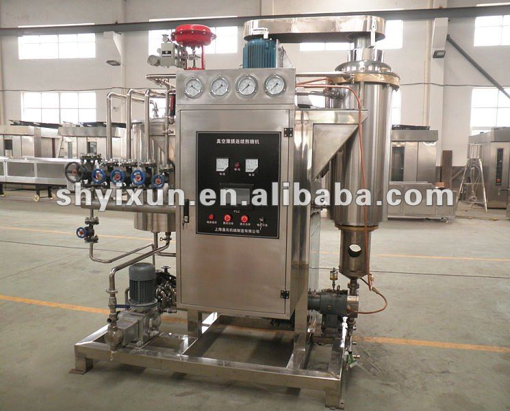 YX-300 Vacuum Continuous Micro-film Cooker/Candy Machines