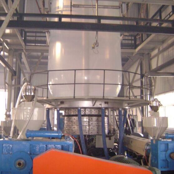 High quality factory low price high speed multi layers coextrusion agricultural Greenhouse flim blowing machine