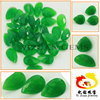 Manufacturer Natural Pear Shape Faceted Cut Burma Green Dyed Jade Beads