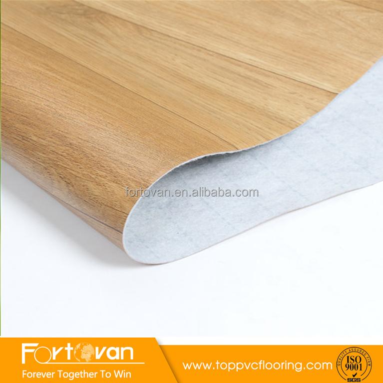 Fortovan 70g Vinyl Rolls Linoleum Flooring Piso Vinilico Felt Back Roll