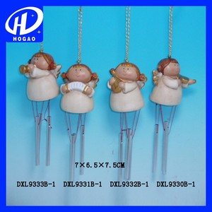 Home Hang Decoration Fairy Ceramic Small Figurine Angel