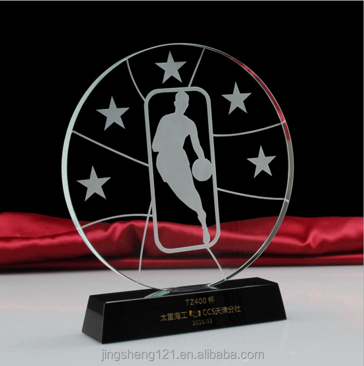 Fancy cheap price custom logo nba replica wholesale basketball sport trophy