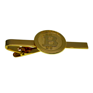 10 Years Manufacturer china suppliers no MOQ men custom bitcoin tie clip