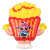 Fashionable Hot Selling Kawaii color French Fries Slow Rising Scented Squishies Toys for Kids New 2019