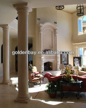 In Tuscan Column Limestone Interior Decorative Columns