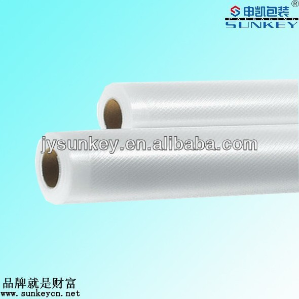 plastic embossed vacuum roll for foodsaver machine