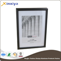 a3 photo frame metal aluminum black border photo picture frame