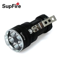 NEW supfire L1 the super high power flashlight with 5 led lamp