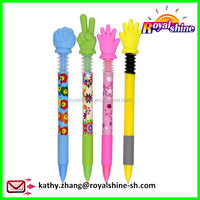 Hot selling free ink roller pen christmas gift fingers pen