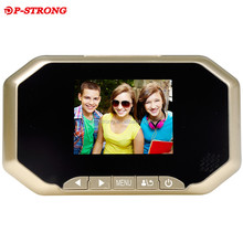 Home Door View Night Vision 3.0 Inch Screen Smart Peephole Viewer