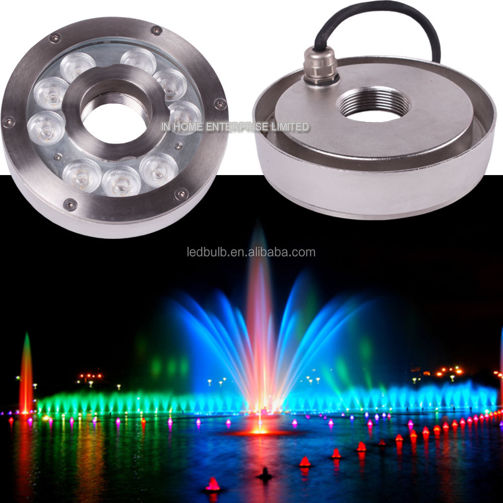New Product DMX underwater lighting 12V ip68 waterproof Led underwater fountain light