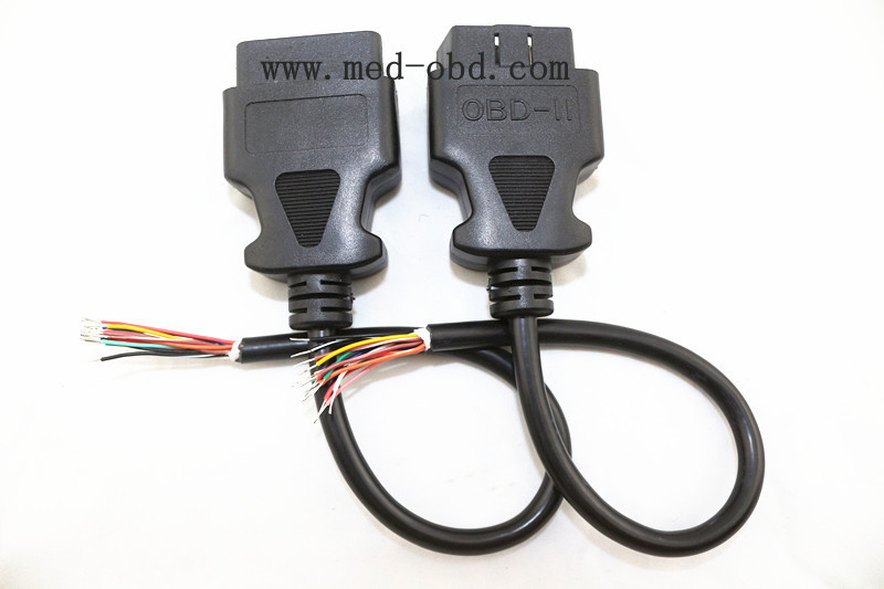 OBD2 Cable,J1962m to open end , 1ft/30cm e