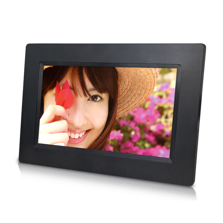 TFT type 7inch 800x480 <strong>digital</strong> photo frame lcd advertising machine