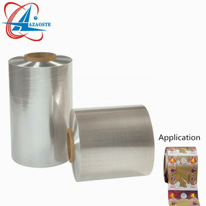 Customized plastic pvc heat shrink wrap film for printing labels