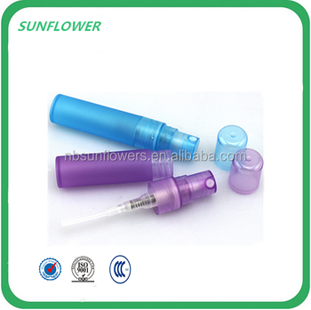 Plastic hand mini trigger sprayer PP perfume spray pen