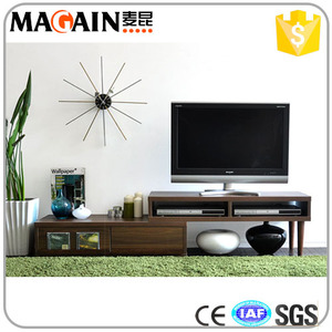 Extendable Tv stand laminate tv cabinet