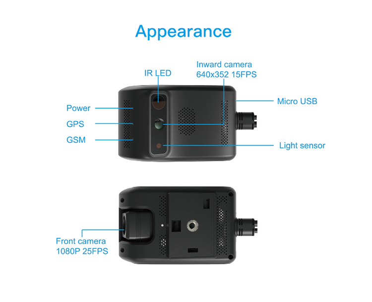 Concox Jc200 3g 4g Android Gps Tracking Live Video Smart Vehicle Telematics  Dash Camera Gps - Buy Smart Gps Vehicle Tracker,Android Gps