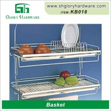 Decorative Cheap And High Quality Kitchen Tool Warehouse Storage Best-Selling Hottest Metal Wire Basket Carts