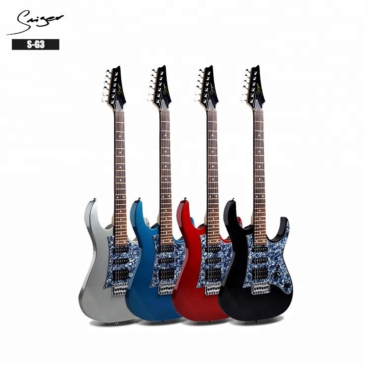 Cheap wholesale price economic OEM SSH pickup 6 strings electric guitar фото