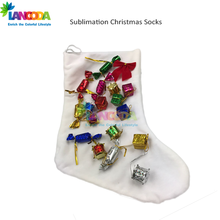 Lancoda sublimation blanks Christmas stocking