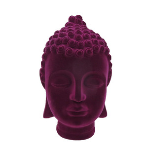 New design home decor resin buddha head for sale