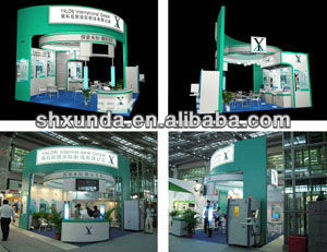 Shanghai Trade show booth,exhibition stand construction,fair booth design