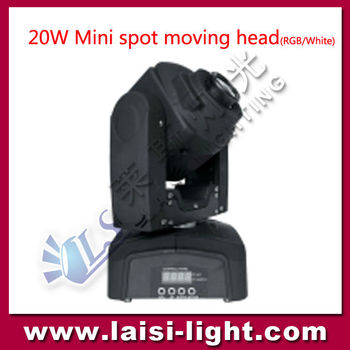 Used Stage Lighting For 20w Mini Spot Moving Head Names Lights