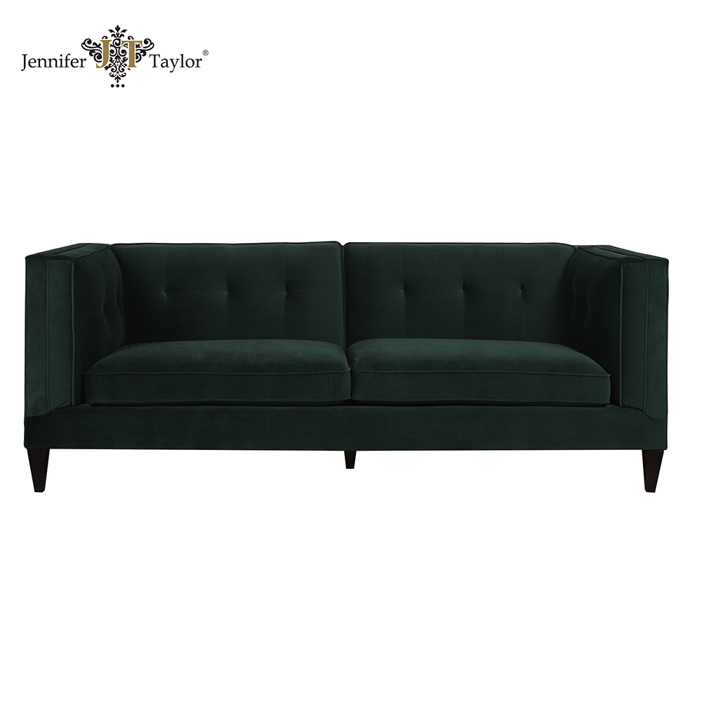 USA brand name furniture supplier high back sofa/living room furniture chesterfield sofa/classic 3 seaters sofa