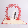 Meilun Art & Crafts 3D laser cutting greeting card wedding invitation card