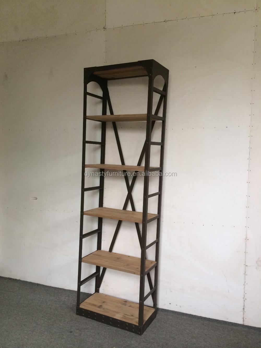 Vintage industrial muebles de metal y madera dise o for Muebles diseno industrial vintage