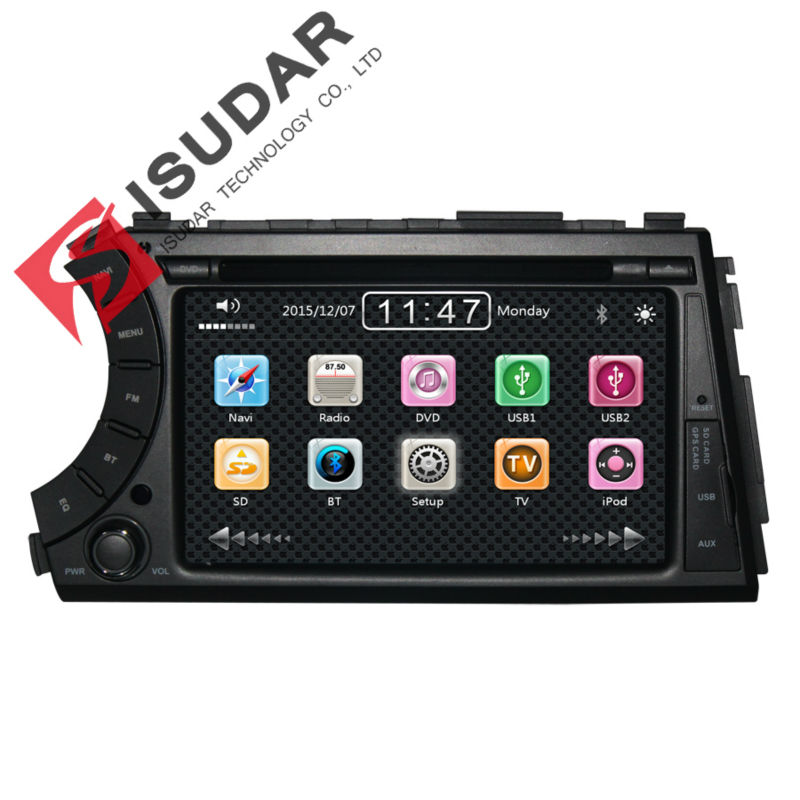 Free Shipping Two Din 7 Inch Car DVD Player For SSANGYONG Kyron 2005 Korand