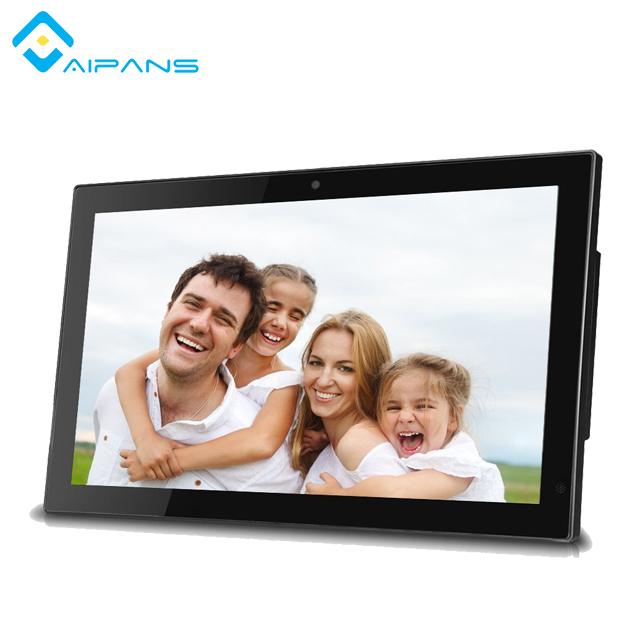 "All In One Digital LCD LED display 22"" inch screen monitor 1920*1080 video advertising player"