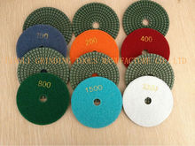 the renovator tool abrasive type 4inch diamond wet polishing pads