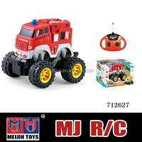 BEST 4WD Christmas gift toy 4 CH remote control fire truck
