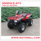 3000W 60V SHAFT DRIVE ELECTRIC ATV WITH DIFFERENTIAL